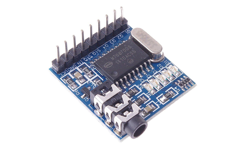 Téléphone de module de décodeur vocal MT8870 DTMF