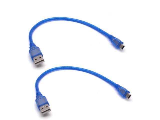 """USB cable - 6"""" A/Mini B"""