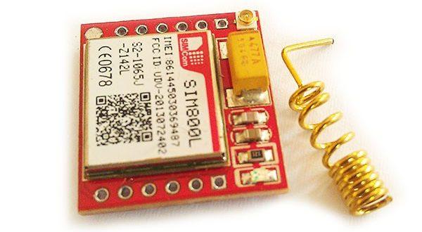 Module GSM rouge SIM800L