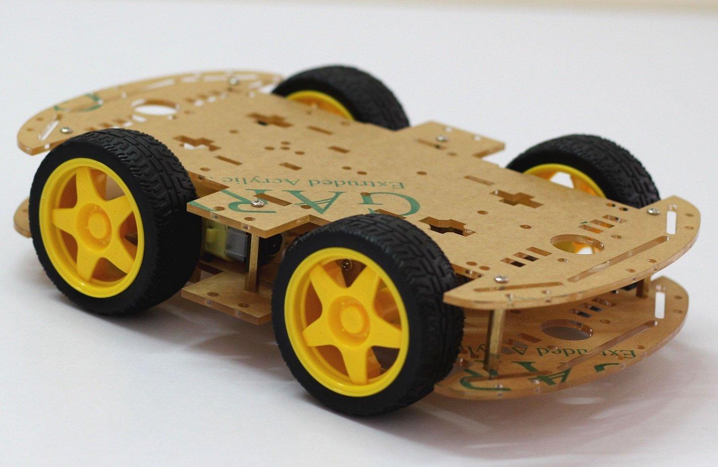 Châssis à quatre roue