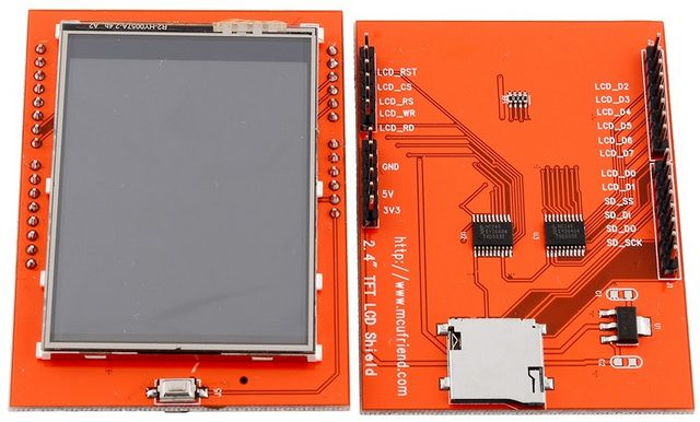 TFT LCD Sheild
