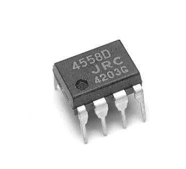 4558D Double Amplificateur Opérationnel