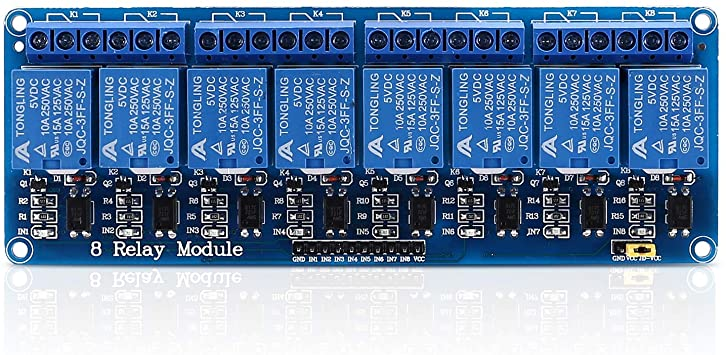 Module Relais 05VDC 8 Canaux