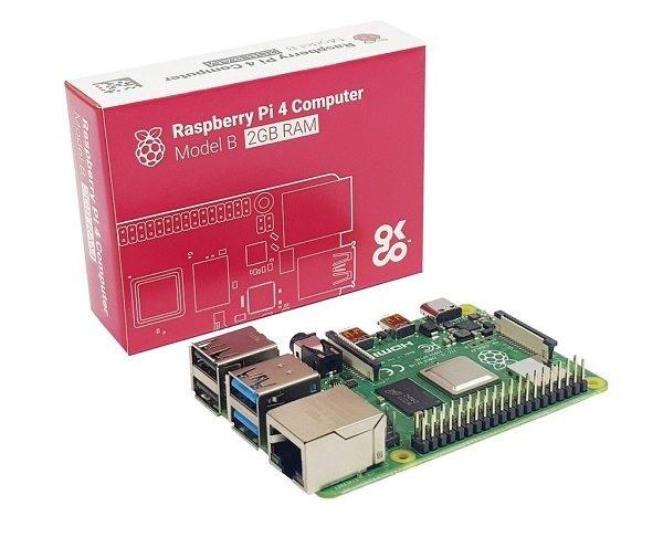 Raspberry Pi4 Model B RAM 2Giga