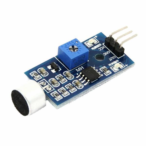 Microphone électret, module de détection sonore