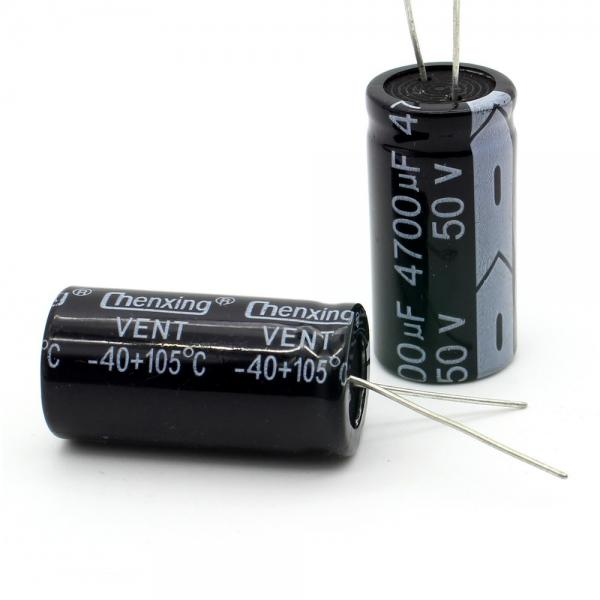 Condensateur Radial 4700uF 50V