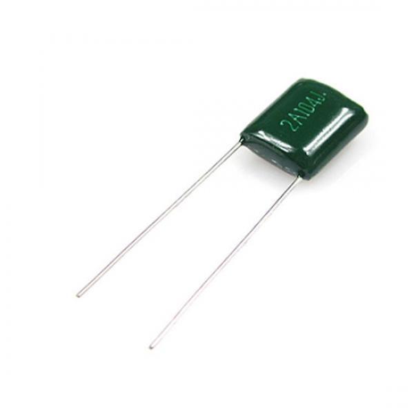 Condensateur 0,0001 uF, 100V