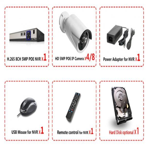 Kit cameras et NVR