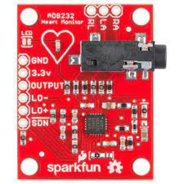Moniteur de fréquence cardiaque AD8232 ECG