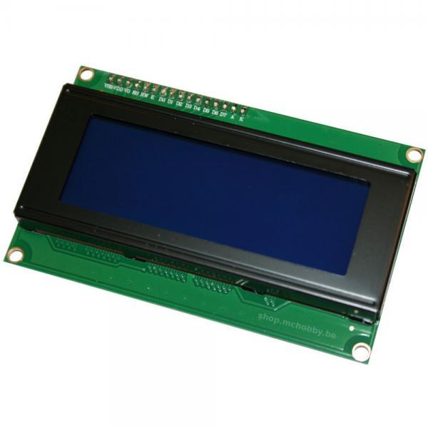 LCD 20X4 I2C/IIC Rétroéclairage bleu