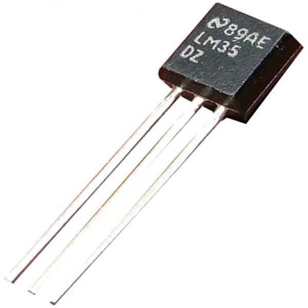 Capteur de temperature LM35DZ