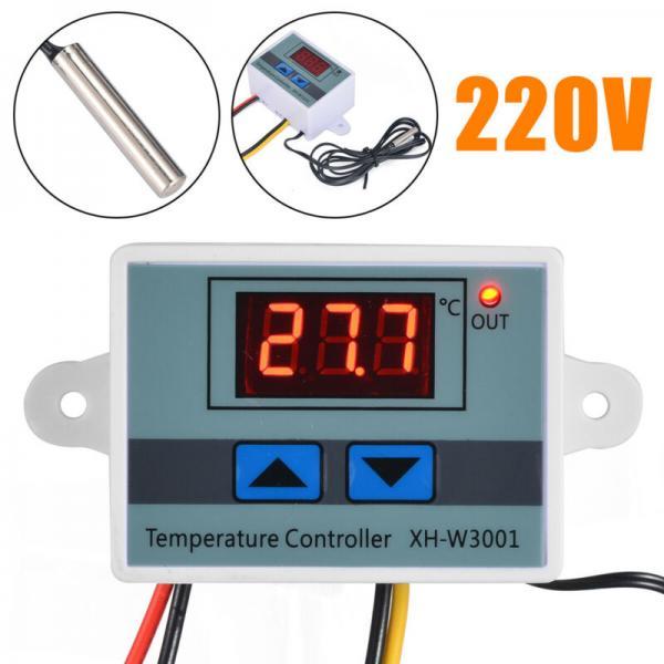 Thermostat numérique 220v 10A